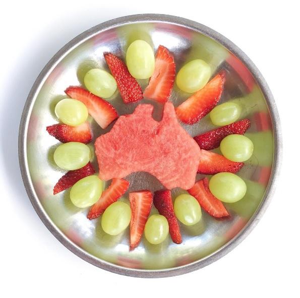 Aussie cookie cutters - watermelon