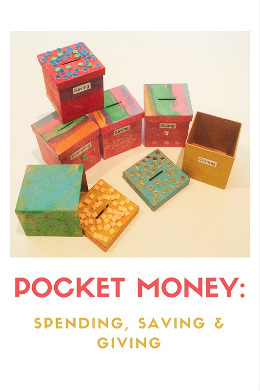 Pocket money - Spending Saving Giving