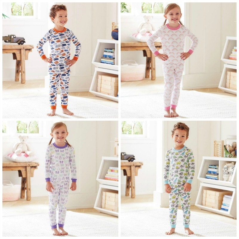 PBK pyjamas collage
