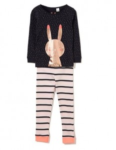 Cotton On Kids girls PJs bunny 2 - Easter gift guide for babies and kids - Gift Grapevine