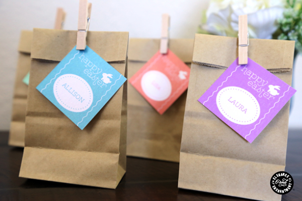 Elegance and Enchantment Easter gift tags - Fantastic free Easter printables and craft ideas - GIft Grapevine