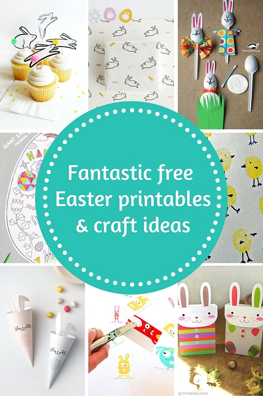 Fantastic free Easter printables and craft ideas - GIft Grapevine