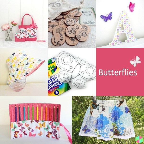 Guest curator for Handmade Cooperative - Butterflies