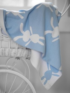 Little Bonbon bunny blue blanket - Easter gift guide for babies and kids - Gift Grapevine