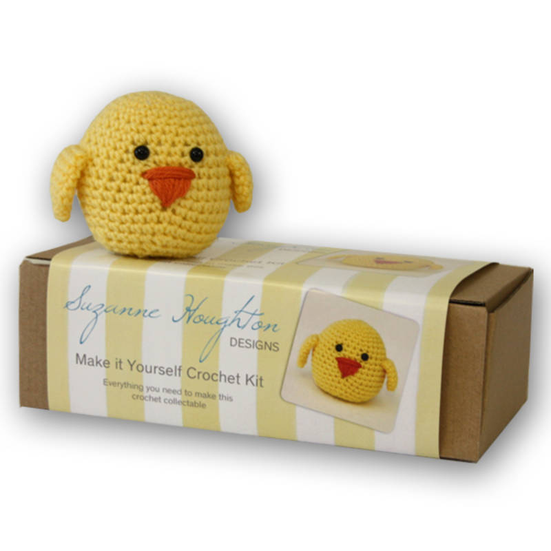 Bumper easter gift guide for babies kids giftgrapevine make it yourself crochet chick kit easter gift guide for babies and kids gift negle Image collections