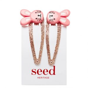 Seed bunny clips - Easter gift guide for babies and kids - Gift Grapevine