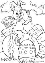 colour in easter 1 - Fantastic free Easter printables and craft ideas - GIft Grapevine