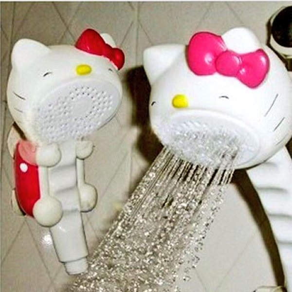 hello kitty shower head