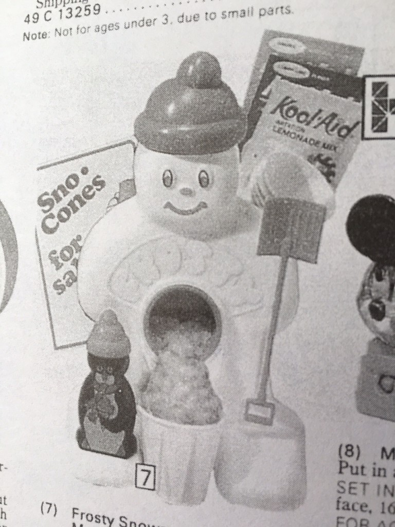 Gift Grapevine retro toys - Frosty snow cones