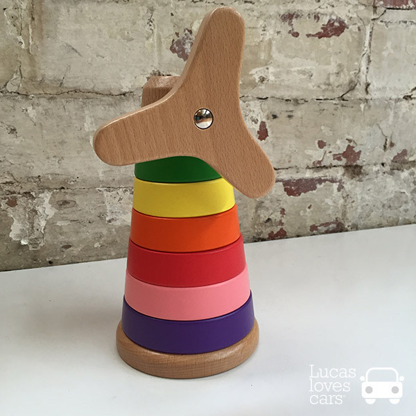 Disc stacking windmill - Gift Grapevine May baby and kids gift ideas