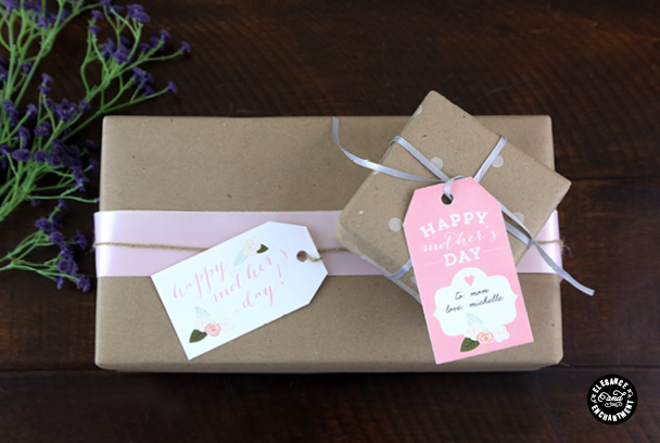 Elegance and Enchantment gift cards - free mothers day printables - Gift Grapevine
