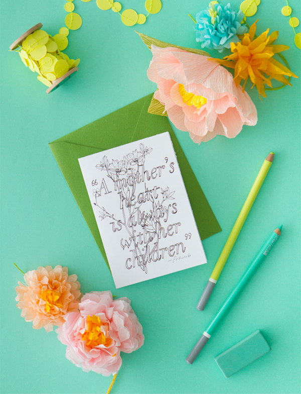 Oh Happy Day mothers day card - free mothers day printables - Gift Grapevine