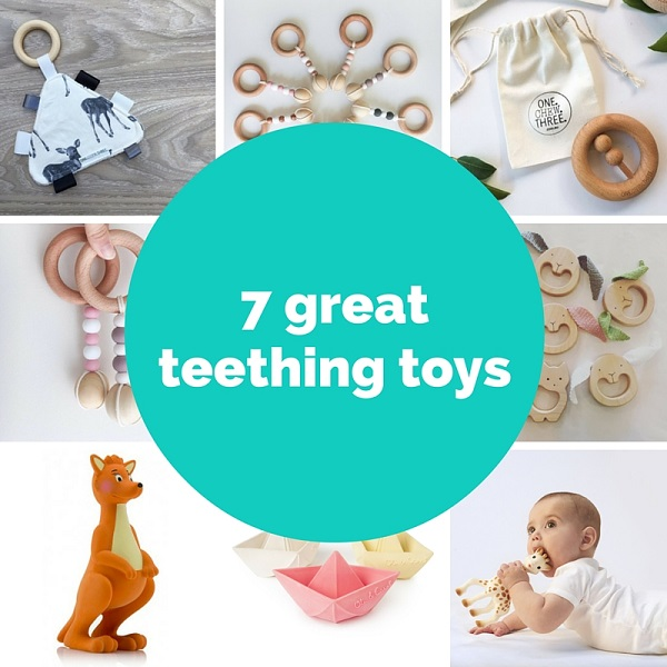7 great teething toys - Gift Grapevine