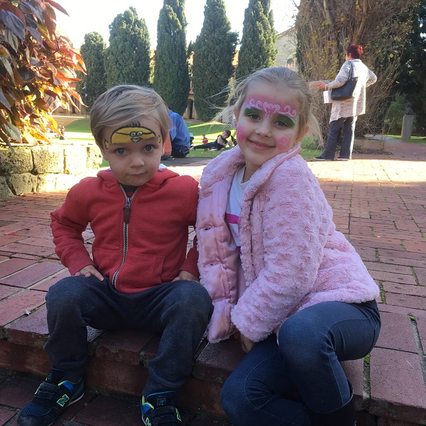 Perth Upmarket gift finds - Mr TT and Miss T facepaint