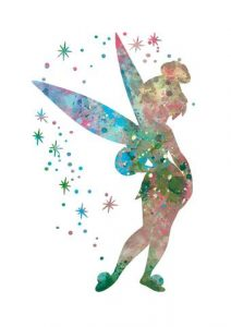Fairy print - Gift Grapevine August baby and kids gift ideas