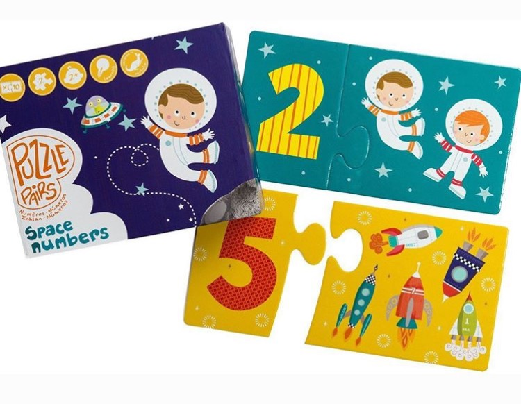 Space puzzle - Gift Grapevine August baby and kids gift ideas
