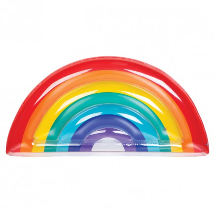 Rainbow Luxe lie-on float - Gift Grapevine baby and kids gift ideas - September