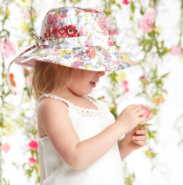 Toshi sunhat - Gift Grapevine baby and kids gift ideas - September