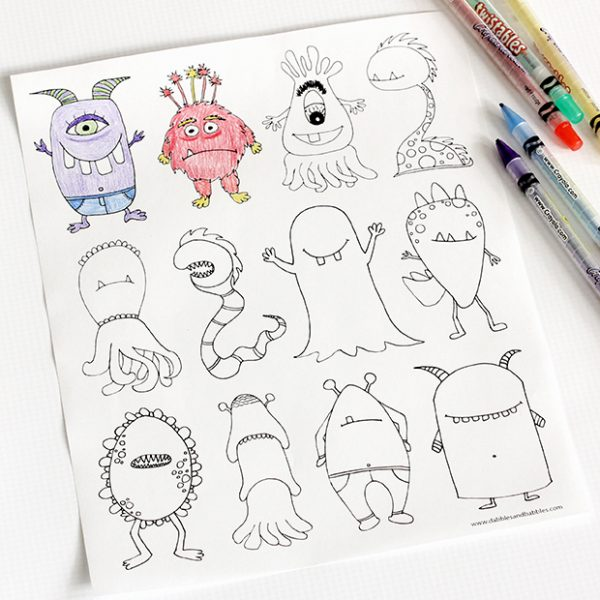 free-halloween-printables-monsters-colouring-page