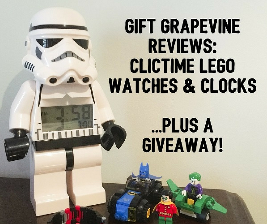 Gift Grapevine reviews: ClicTime LEGO watches and clocks