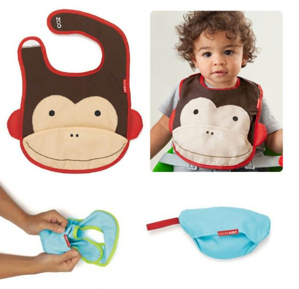 great-gifts-for-babies-skip-hop-monkey-bib