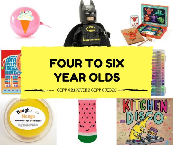 Great gifts for four to six year olds – Gift Grapevine gift guides