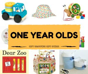 Gift Grapevine baby and kids gift guides - one year old
