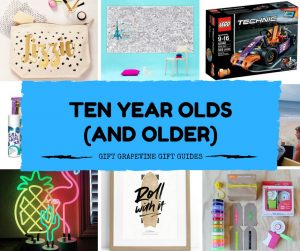 Gift Grapevine baby and kids gift guides - ten year old