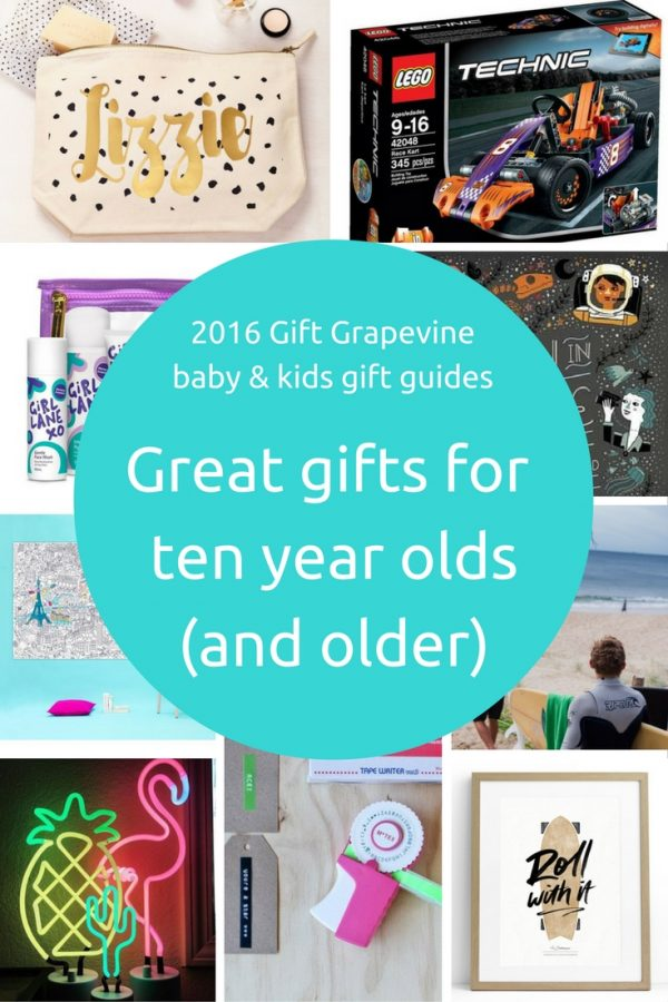 great gifts for ten year olds and older