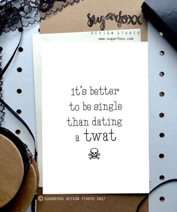 18 funny Valentines Day cards from Aussie small makers Gift – Single Valentines Cards
