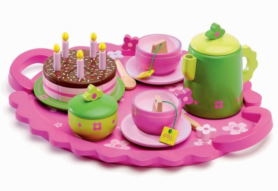 best kid's tea sets - Djeco birthday party teatime set