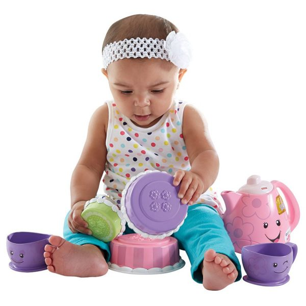 best kid's tea sets - Fisher Price Laugh & Learn Smart Stages tea set