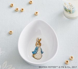 baby and kids Easter gift guide - peter rabbit bowl