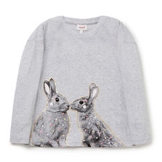 baby and kids Easter gift guide - kissing bunny tee