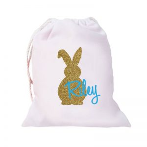 baby and kids Easter gift guide - personalised Easter bag
