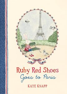 baby and kids Easter gift guide - ruby red shoes goes to paris
