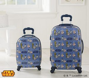 Star Wars gifts - droids spinner luggage