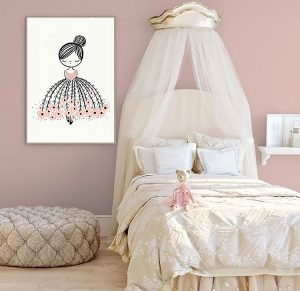 fantastic baby and kids gifts - flower girl dreamer print