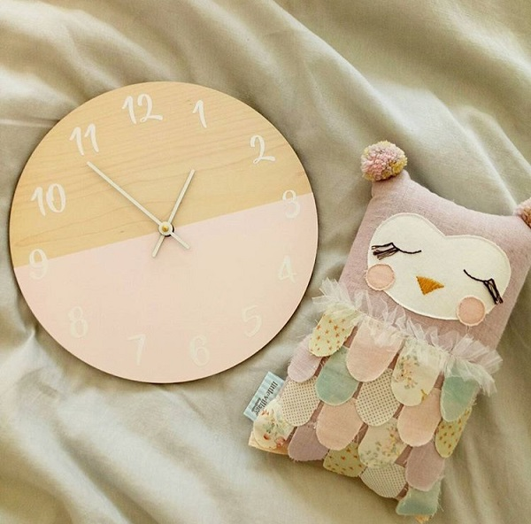 fantastic baby and kids gifts - milly and george designs clock