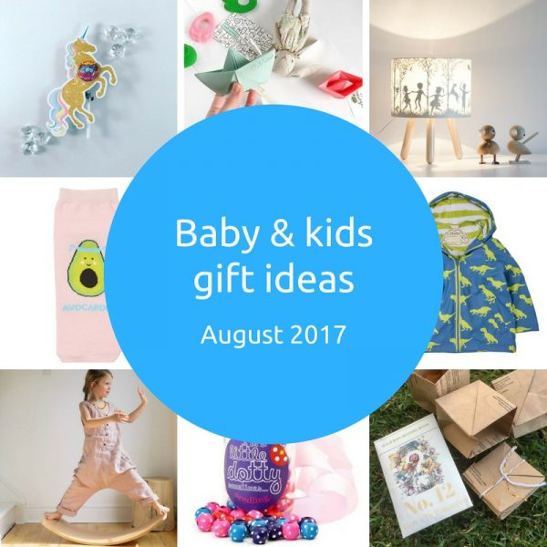 Baby and kids gift picks - August 2017 - Gift Grapevine