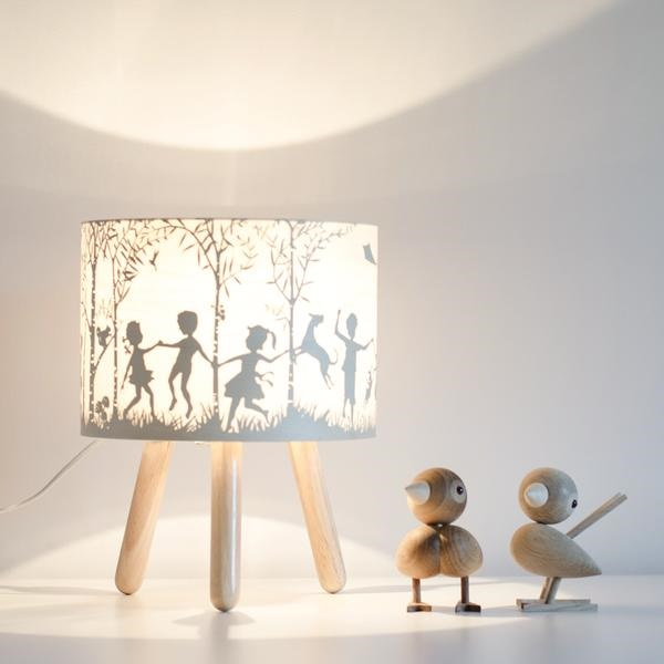 Baby and kids gift picks - into the woods table lamp
