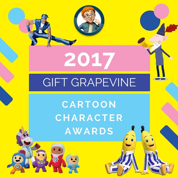 Cartoon Character awards - Gift Grapevine