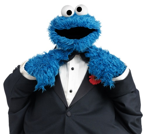 Cartoon character awards - Cookie Monster