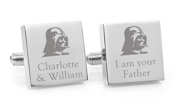 Fun gifts for Dad - Star Wars cufflinks