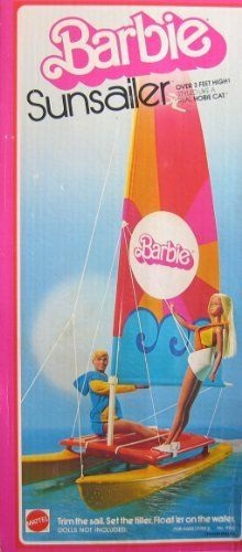 My gift memories - A.L. Tait author - Barbie catamaran