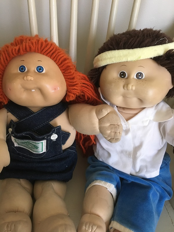 Toys my mum kept - Cabbage Patch Kids