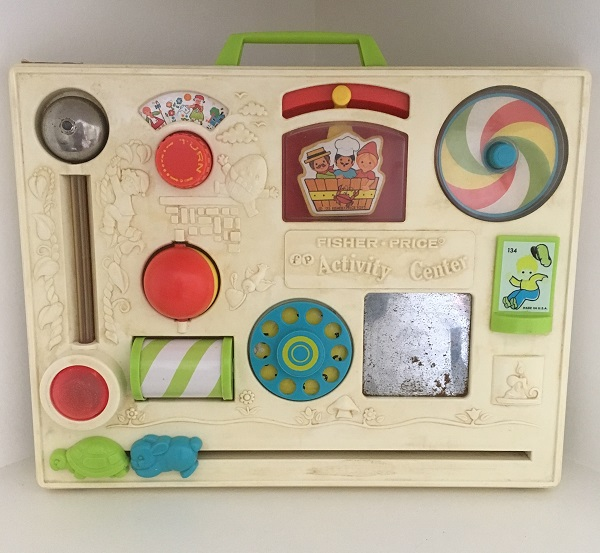 Toys my mum kept - Fisher Price Activity Centre