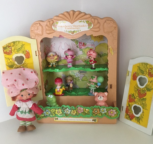 Toys my mum kept - Strawberry Shortcake collection