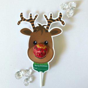 October gift finds - Reindeer lollipop holders