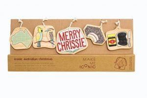 christmas themed gifts - Aussie ornaments 2